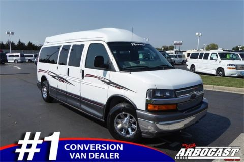 Pre-Owned 2014 Chevrolet Conversion Van Regency RWD Hi-Top