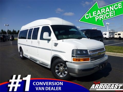 Pre-Owned 2012 Chevrolet Conversion Van Explorer Limited SE RWD Hi-Top