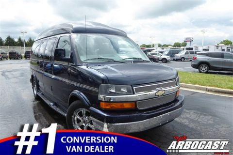 Pre-Owned 2012 Chevrolet Conversion Van Explorer RWD Hi-Top