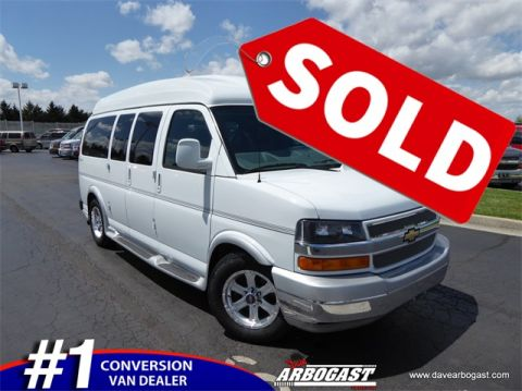 Pre-Owned 2014 Chevrolet Conversion Van Explorer Limited RWD Hi-Top