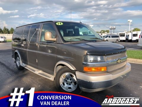 Pre-Owned 2014 Chevrolet Conversion Van Explorer Limited