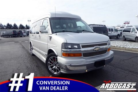 Used Chevrolet Conversion Van Explorer Limited SE Ohio Wheelchair Vans