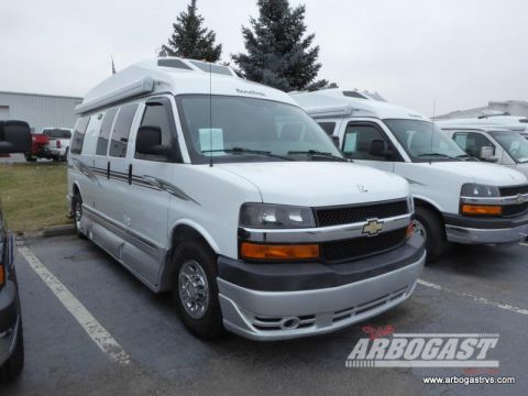 Pre-Owned 2011 Roadtrek Roadtrek 190-Popular  Rear Wheel Drive Full-size Cargo Van