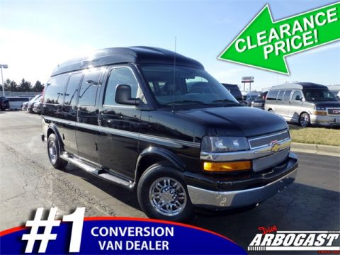 Pre-Owned 2016 Chevrolet Conversion Van Explorer RWD Hi-Top