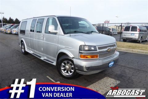 Pre-Owned 2010 Chevrolet Conversion Van Express
