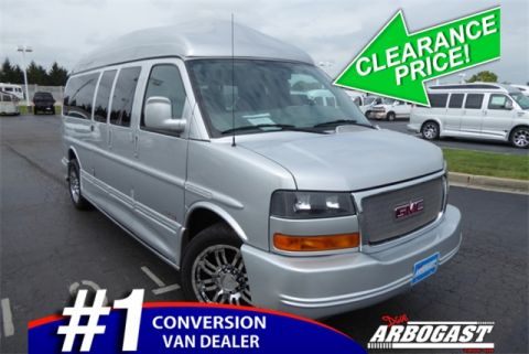Pre-Owned 2015 GMC Conversion Van Majestic SSX RWD Hi-Top