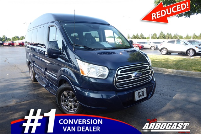 Pre Owned 2017 Ford Conversion Van Explorer Limited Se Transit Rwd