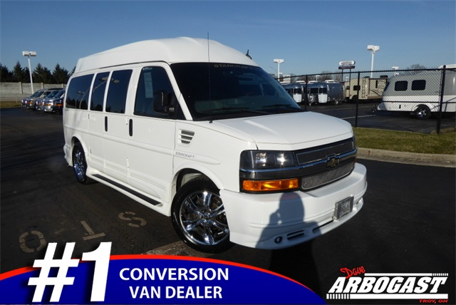 Pre-Owned 2011 Chevrolet Conversion Van Starcraft
