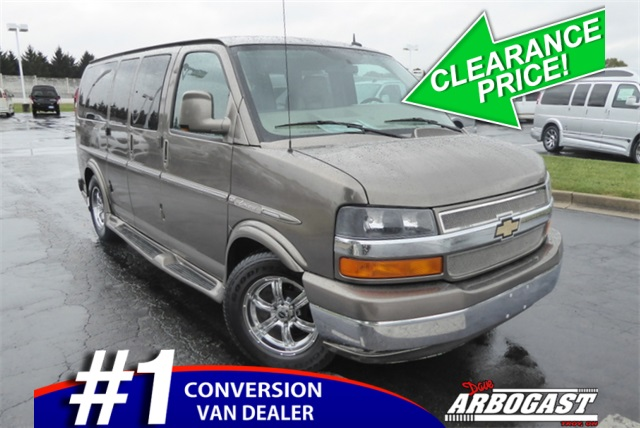 Pre-Owned 2013 Chevrolet Conversion Van Explorer Limited