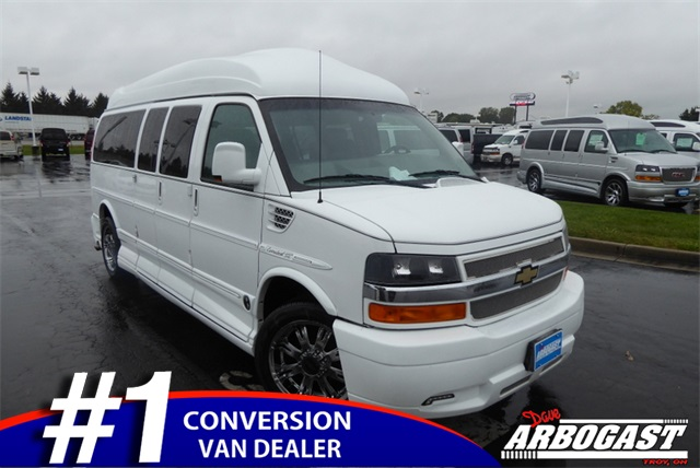 fb826fa416 Pre-Owned 2013 Chevrolet Conversion Van Explorer Limited SE RWD ...