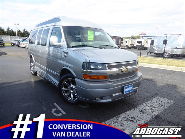 Pre-Owned 2015 Chevrolet Conversion Van Explorer Limiited SE