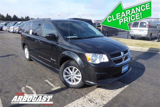 Dodge Conversion Van >> Pre Owned 2016 Dodge Conversion Van Grand Caravan Fwd Mobility