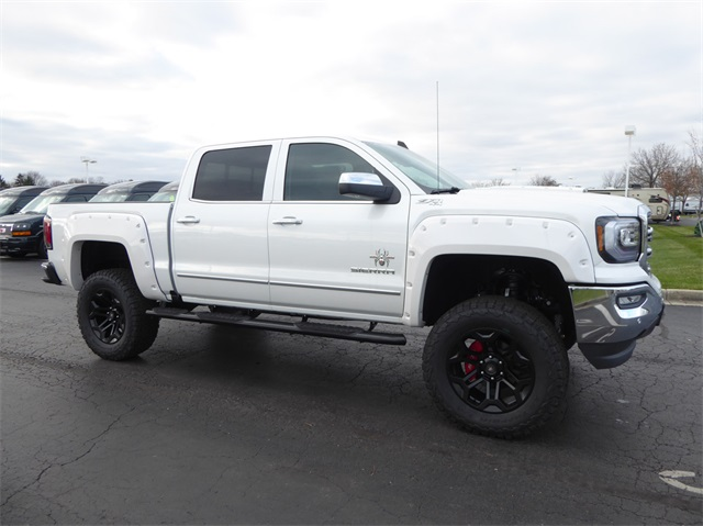 New 2018 GMC Sierra 1500 Black Widow Lifted Truck 4WD